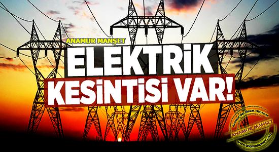 Dikkat,-Anamur'da-Elektrik-Kesintisi