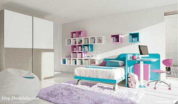 desain kamar anak ukuran kecil