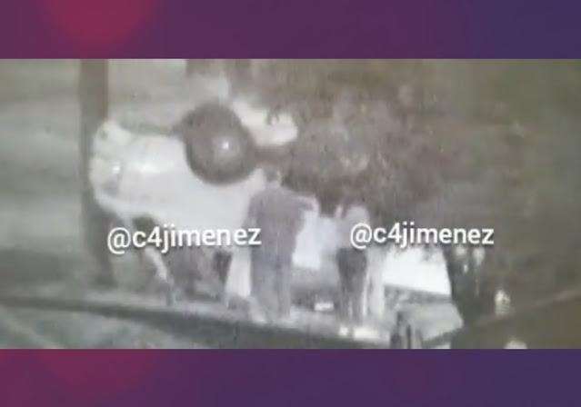 Video; Así saco sus cosas el Chófer de la Camioneta volcada en la CDMX con 1 Tonelada de Cocaína, la cual ahora dicen era del CJNG