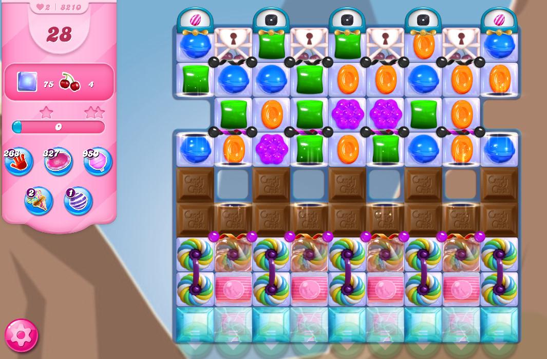 Candy Crush Saga level 8210