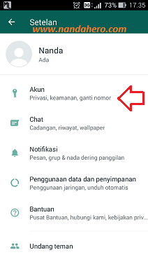 cara membuat info whatsapp tidak ada