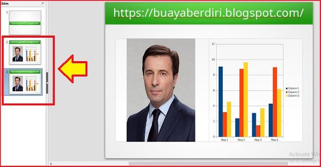 Cara copy slide di Libre Office Impress
