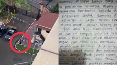 Begini Surat Wasiat Pelaku Penyerangan Mabes Polri yang Ditembak Mati