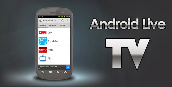 Android Live TV – Online Video Streaming App Full Source Code from