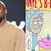 Kanye West ganha mensagem de parabéns especial do Rick e Morty