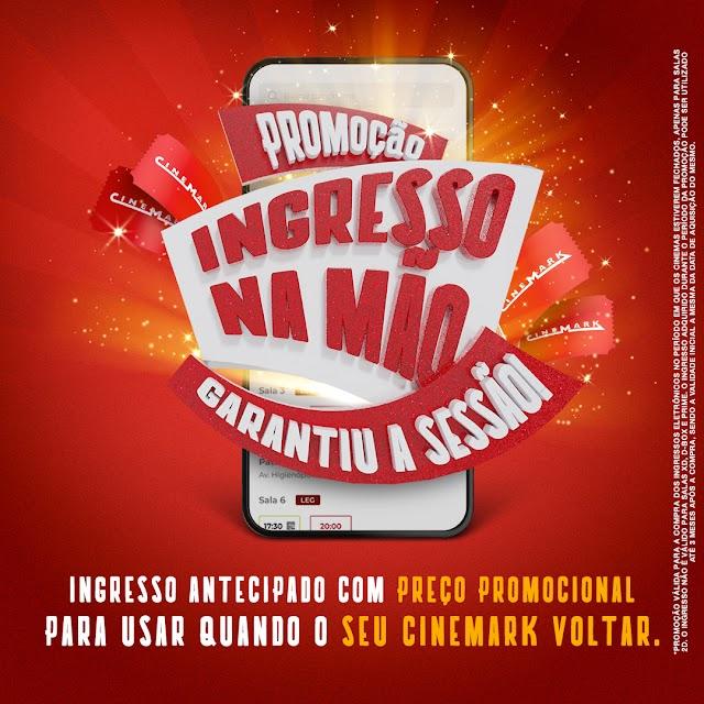 Cinemark abre venda de ingressos antecipados com preços promocionais