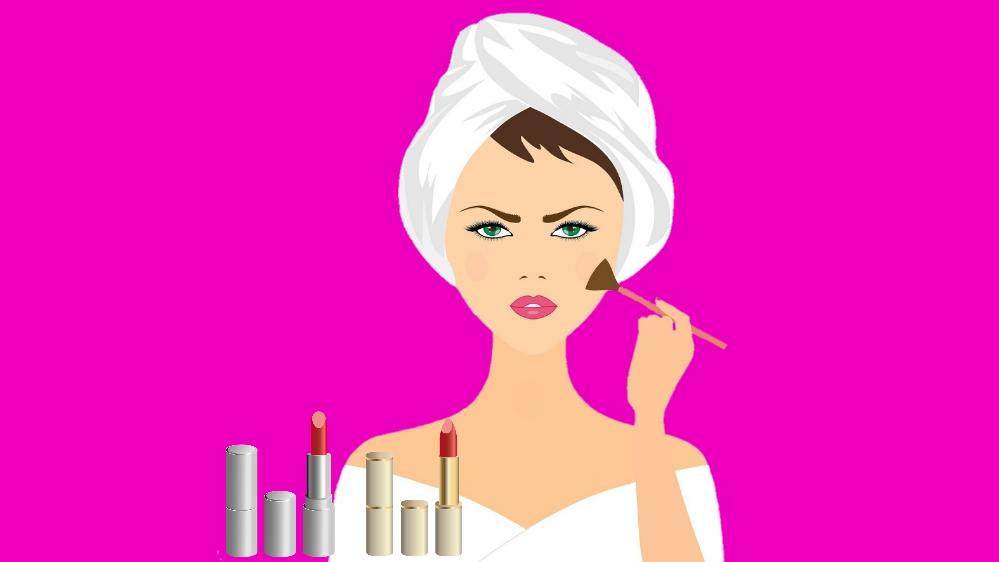 Tips dan Belajar memakai makeup
