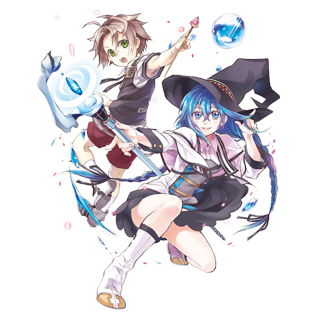 Mushoku Tensei licenciado por Panini Comics.