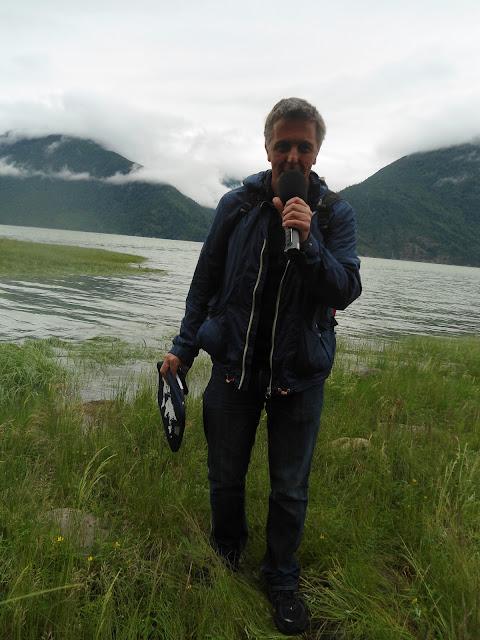 Alexander Tauscher unterwegs in British Columbia