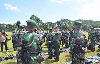 Pesan Asops Panglima TNI Jaga Hubungan Baik Dengan Masyarakat Di Wilayah Penugasan.