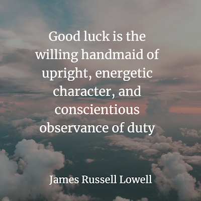 Top Self Help Inspirational Quotes ABOUT LUCK