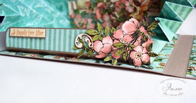 """Once Upon a Springtime  Graphic 45 Студия """"Эклю"""", @koshchavtseva_irina @tarasova_dariya @studio_eklyu @chipboardmagazin"""