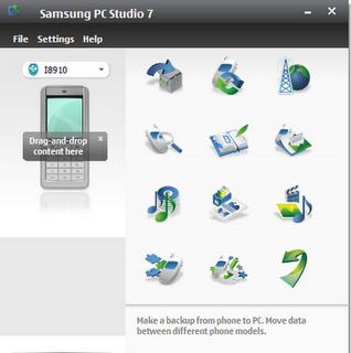 تحميل برنامج Samsung PC Studio 7 مجانا, برنامج التحكم في هاتف سامسونج, برامج هاتف سامسونج, Download Samsung PC Studio 7 Free.