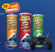Promoção Pringles 2019 Console PS4 Vouchers e Fundos de Tela