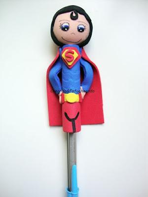 Fofulápiz Supermán en bolígrafo para el día del padre