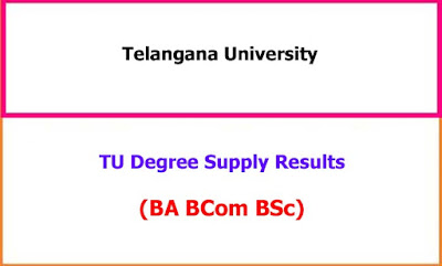 TU Degree Supply Results