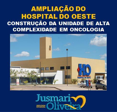 Jusmari diz que anúncio da construção da unidade de oncologia marcará uma nova história na saúde da região
