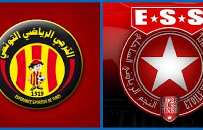 مباراة الترجي والنجم الساحلي يلا شوت بلس مباشر 1-1-2021 والقنوات الناقلة في الرابطة التونسية لكرة القدم