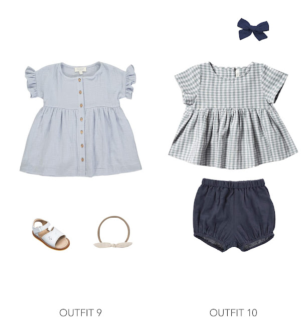 2 trendy easter outfit ideas for baby girls