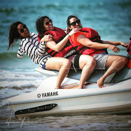 Water ride, Goa Beach photography, Arun Punalur