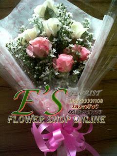 bunga tangan mini