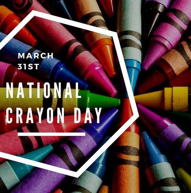 National Crayon Day Wishes Photos