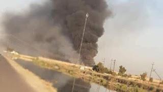 Depot Senjata Kelompok Syiah Hashdi Shabi di Iraq, Diserang