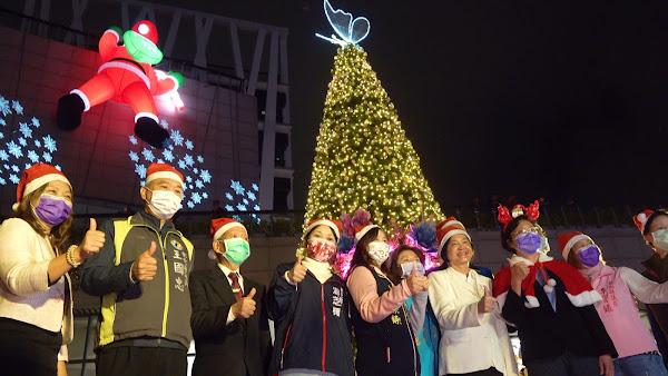 歡樂聖誕點燈點亮彰化 不用出國就可體驗異國風情