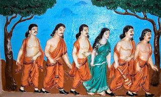 पांडवो के द्वारा स्वर्ग कि यात्रा। Pandavon ki Swarg Yatra.
