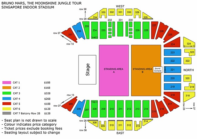 Image Result For Bruno Mars Singapore