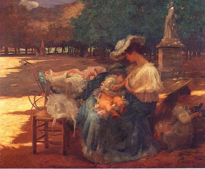 Maternidade - Eliseu Visconti -  O mais importante artista plástico brasileiro da primeira década do século XX