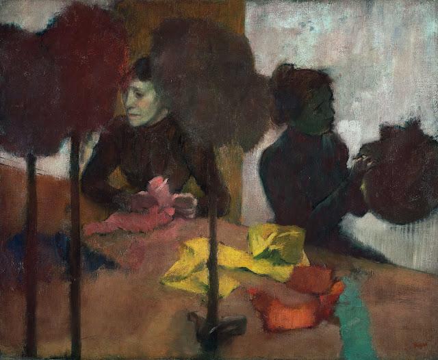 Эдгар Дега - Модистки (от 1882 до 1905)