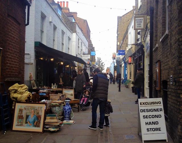 tiendas segunda mano Hampstead Londres
