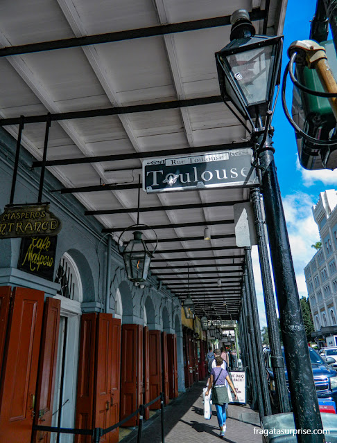 Arquitetura: as galerias do French Quarter de Nova Orleans