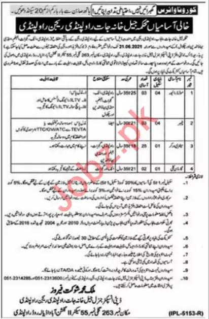 Jail Police Jobs 2021 Punjab Online Apply