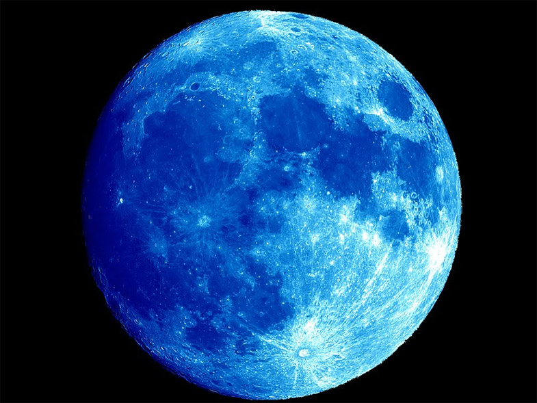 голубая луна март 2018