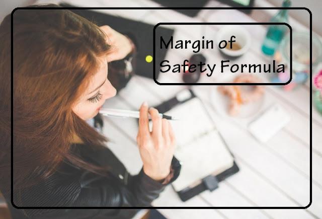 margin of safety formula