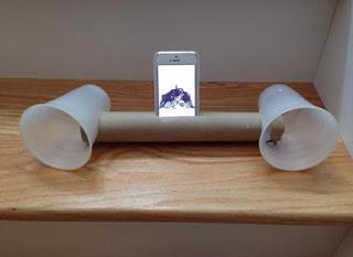 ide kreatif membuat speaker hp