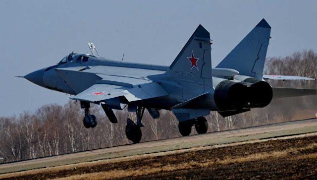 Pesawat tempur Rusia naik enam kali seminggu untuk interceptions