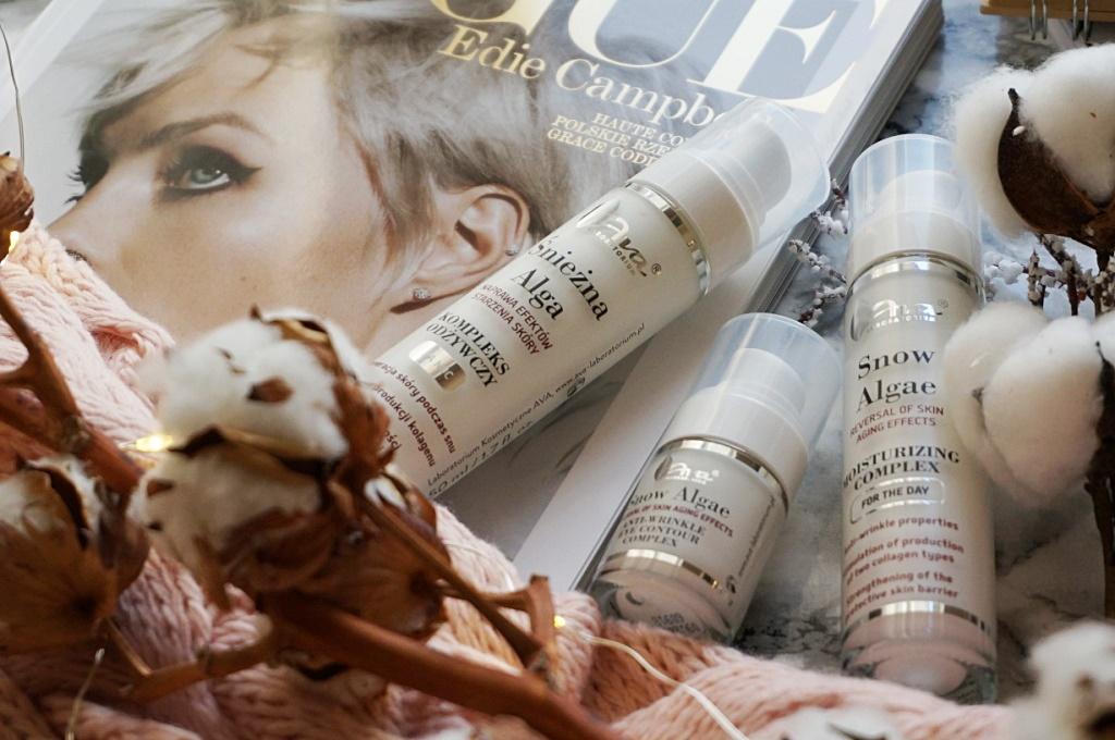 Ava Laboratorium Śnieżna Alga kosmetyki do twarzy pielęgnacja