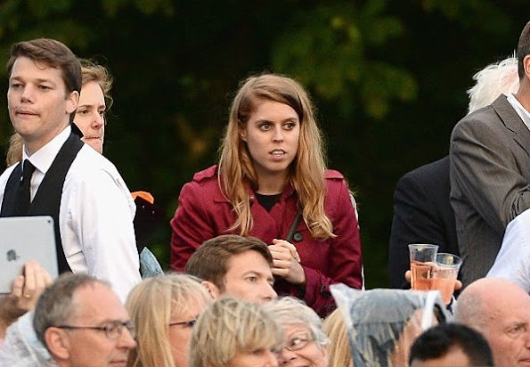 Prince Harry, Princess Eugenie, Princess Beatrice, Alicia Lowes, Joss Stone attends the Sentebale Concert at Kensington Palace