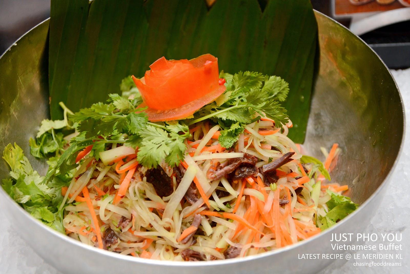 CHASING FOOD DREAMS: Latest Recipe @ Le Meridien Kuala Lumpur