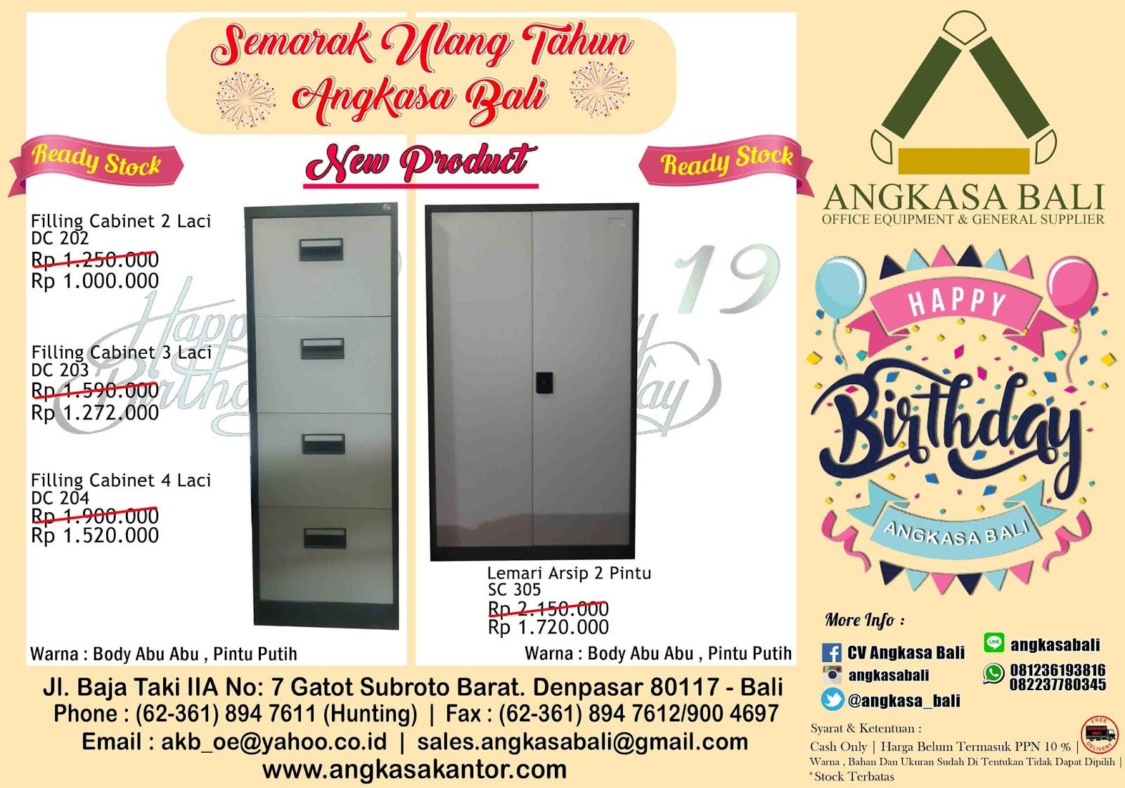 Promosi Filling Cabinet Dan Lemari Besi Di Bali Di