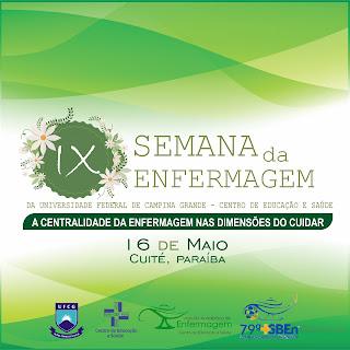 CES/UFCG realiza IX Semana da Enfermagem nesta quarta (16) em Cuité