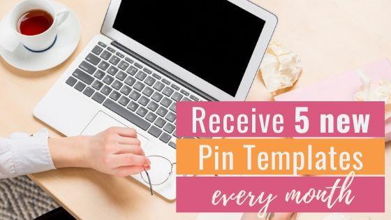 Pinterest Pin Templates Subscription