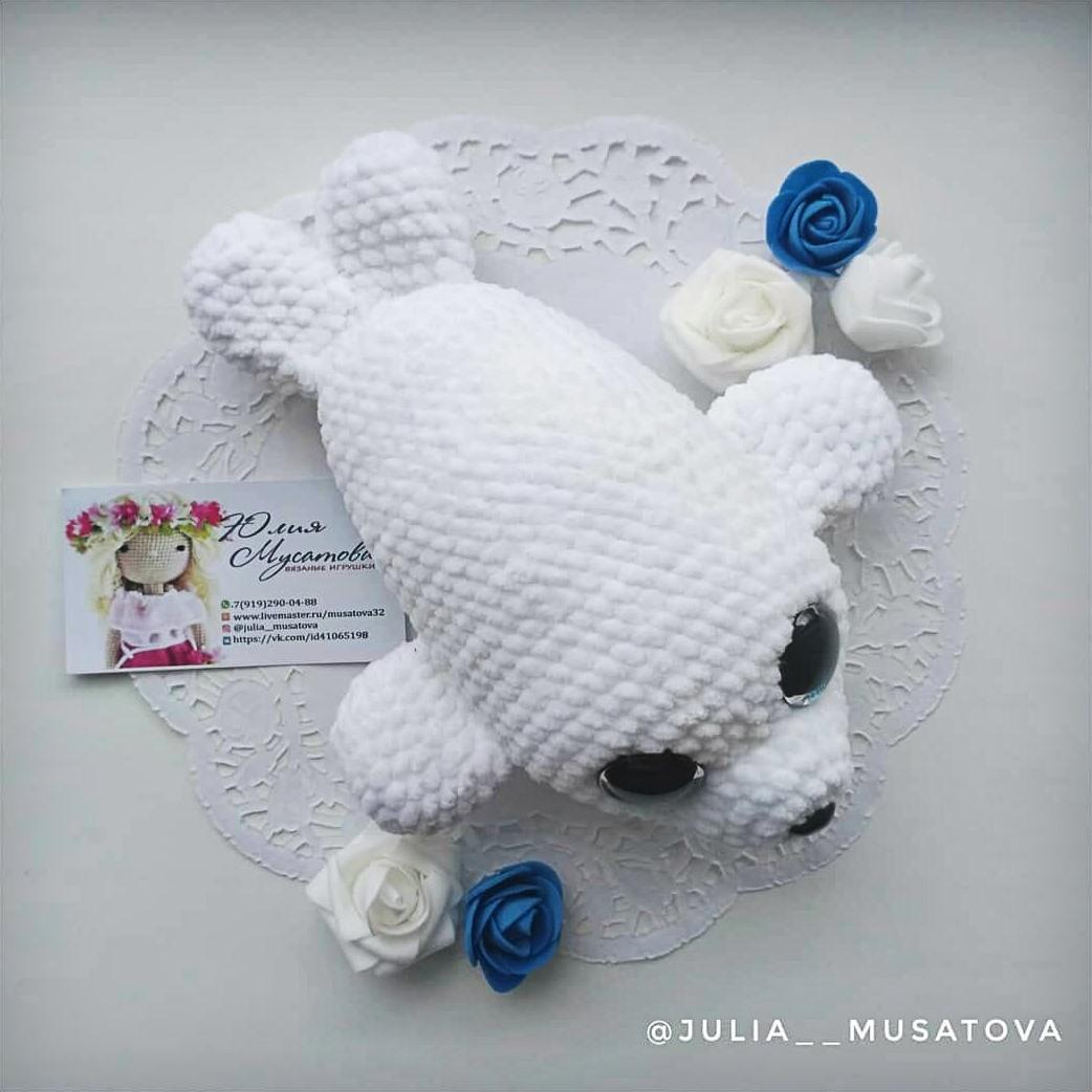 Amigurumi baby seal pattern