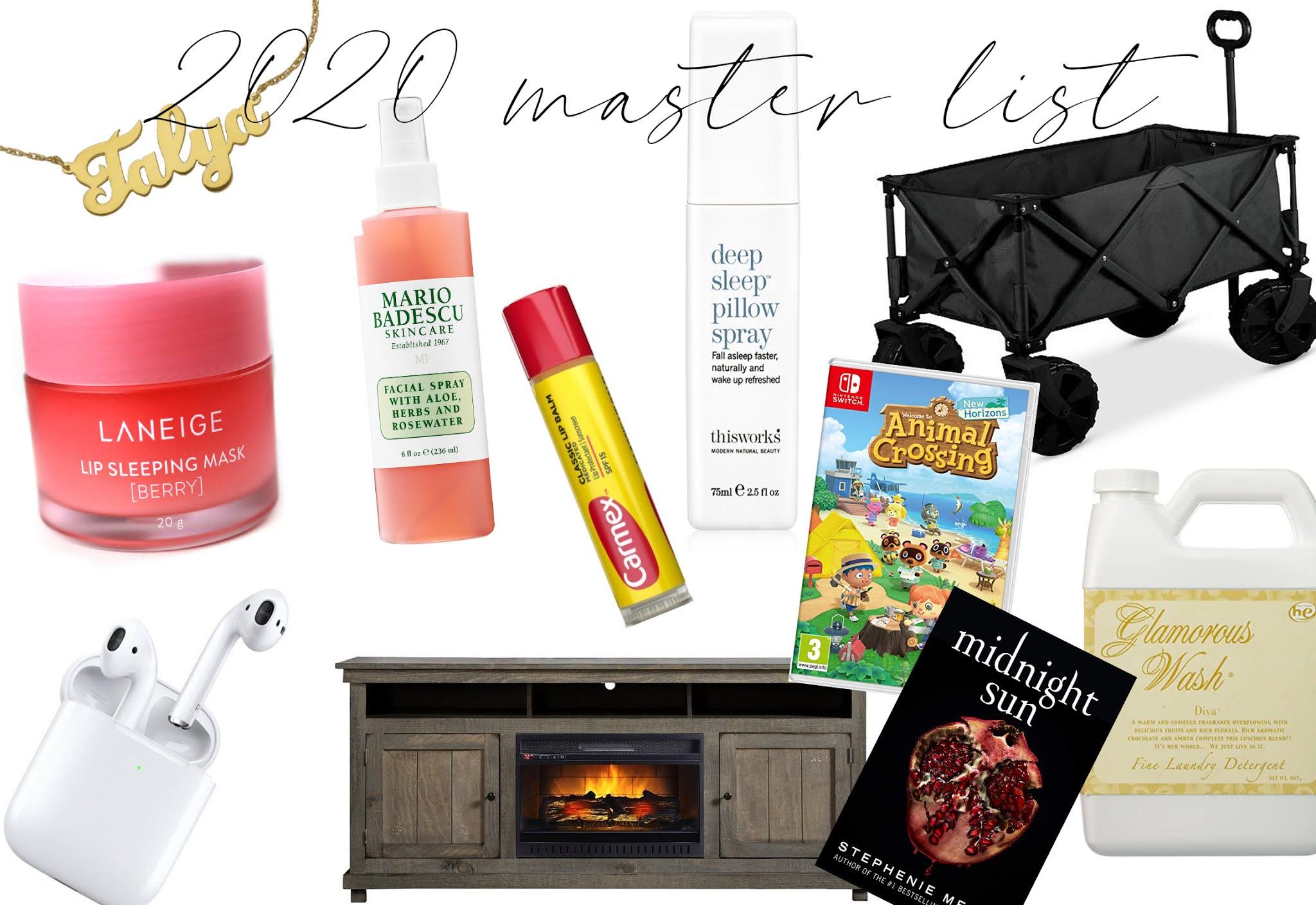 2020 Master List