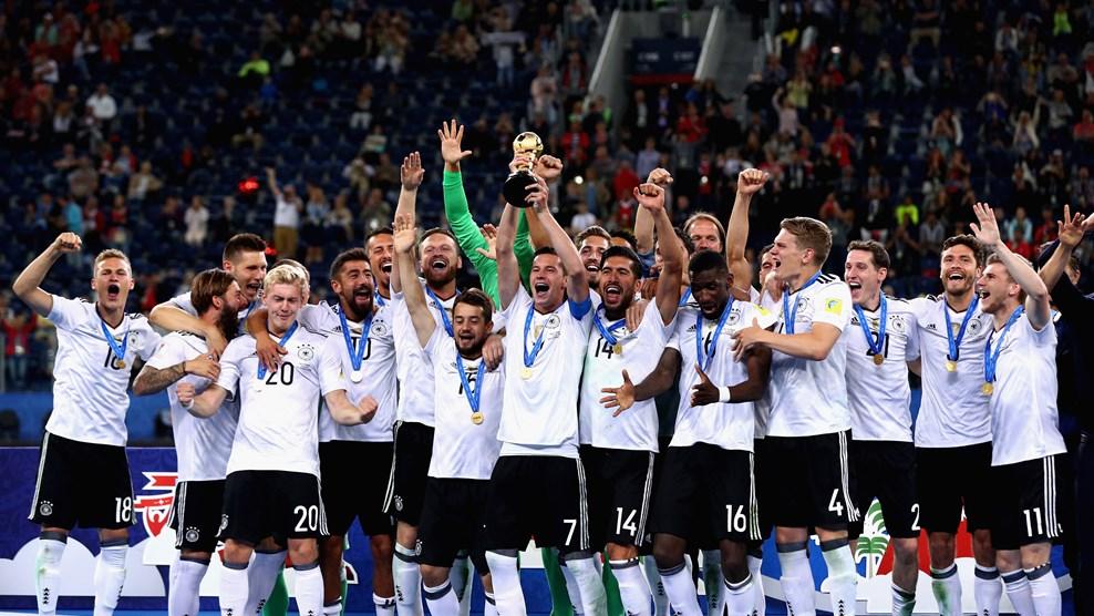 e83a704b05b17 Alemanha bate Chile e vence Copa das Confederações pela primeira vez ...