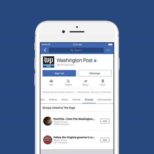 Facebook Announces that every one Pages will currently produce connected teams