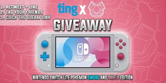 Sorteio Concorra a um Nintendo Switch Lite Pokemon Limited Edition